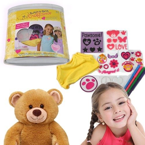 Build-A-Bear Craft Shop Fashion Decorating Kit Just $3.99 Down From $24.99 At GearXS! Ships FREE!