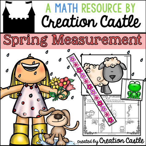 FREE Spring Themed Educational Measurement Charts!