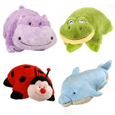 Pillow Pets Pee-Wees Stuffed Animal Plush 4 Pc Set Only $16! Ships FREE!