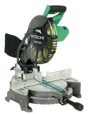Hitachi 10-inch Single Bevel Compound Miter Saw Just $99! Was $140!
