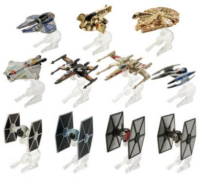 Hot Wheels Star Wars Hero & Villain Starships 11-Pack Just $25!  (Was $50)