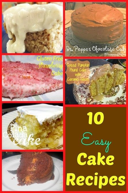 10 Easy Cake Recipes