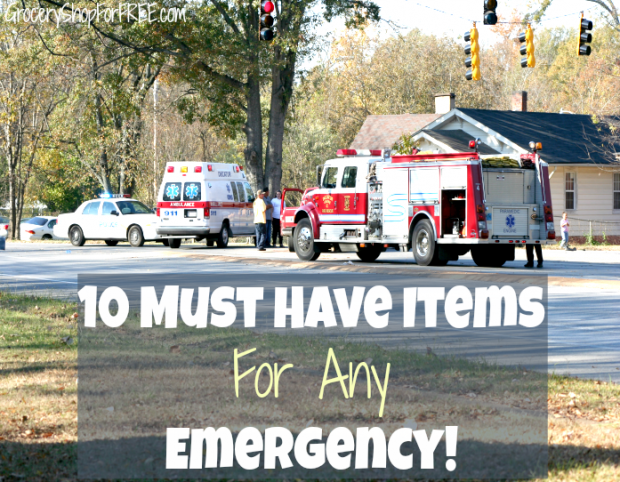 10 Must Have Items Foe Any Emergency
