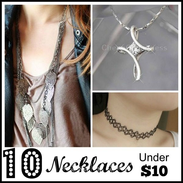 10 Necklaces Under $5!