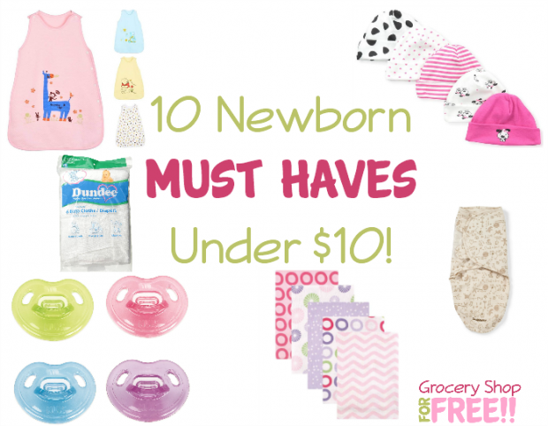 10 Newborn MUST HAVES Under $10!