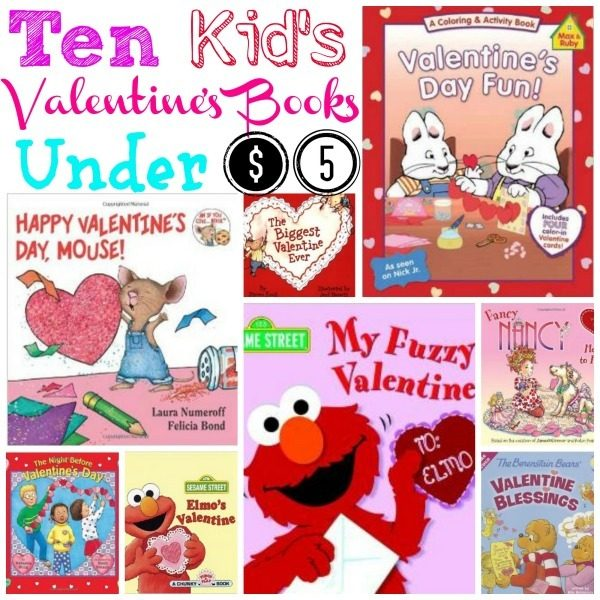 10 Valentine's Books For Kids Under $5