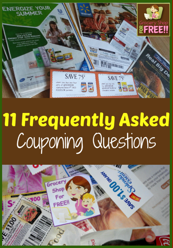 11 Frequently Asked Couponing Questions