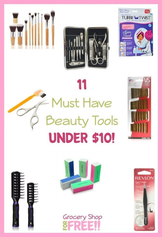 11 Must Have Beauty Tools Under $10! Pin
