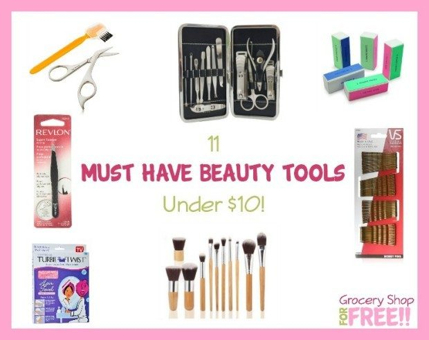 11 must Have Beauty Tools Under $10!