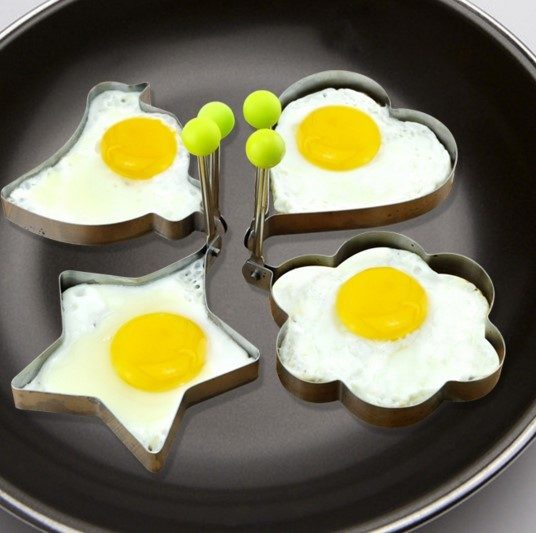 Stainless Steel Egg Or Pancake Molds Set Of 2 Just $8.12!  PLUS FREE Shipping!