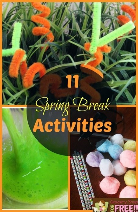 11 Spring Break Activities