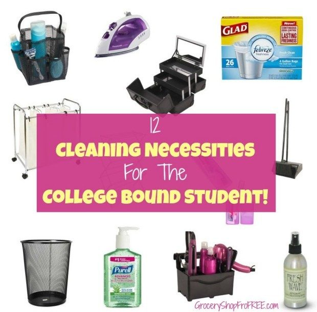 12 Cleaning Necessities For The College Bound Student