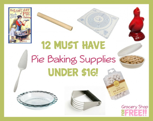 12 Must Have Pie Baking Supplies Under $16!