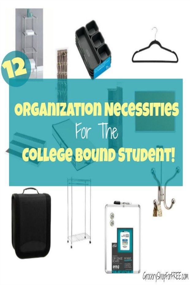 12 Organization Necessities For THe College Bound Student!