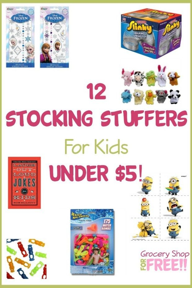 12 Stocking Stuffers For Kids Under $5!