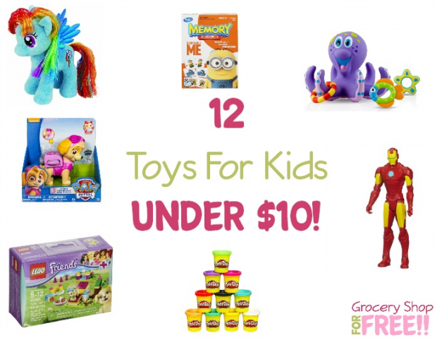 12 Toys For Kids Under $10