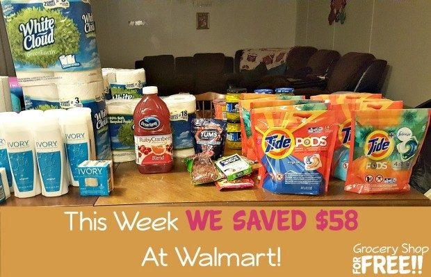 This Week We Saved $58 At Walmart!