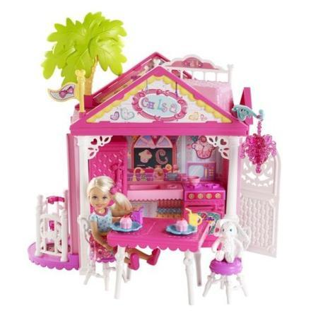 Barbie Chelsea's Clubhouse Play Set On Clearance For $10.00 + FREE Store Pickup (Reg. $20)!