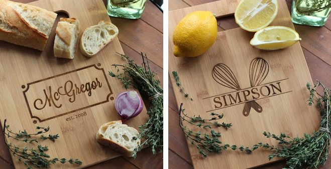 Personalized Cutting Boards Only $18.99!