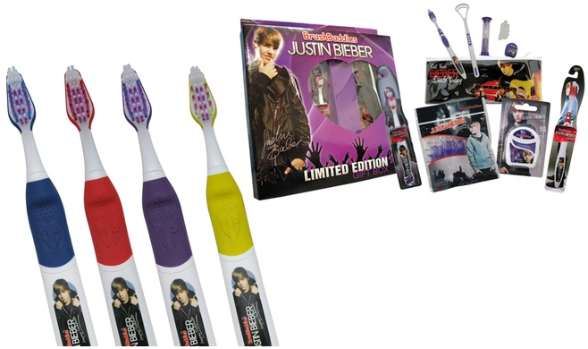 Justin Bieber Singing Toothbrush Or Giftbox Only $4.99!