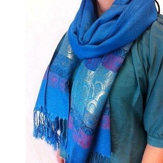 Set of 2 - Ladies Pashmina Scarves Only $9.99 Plus FREE Shipping!
