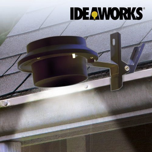IdeaWorks Solar Outdoor Clip-On Light $7.49 Each Or 3/$18 Plus FREE Shipping!