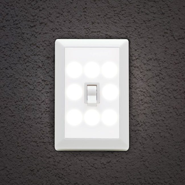 Wireless 8 LED Light-Switch Night Light Only $5.49 Plus FREE Shipping!