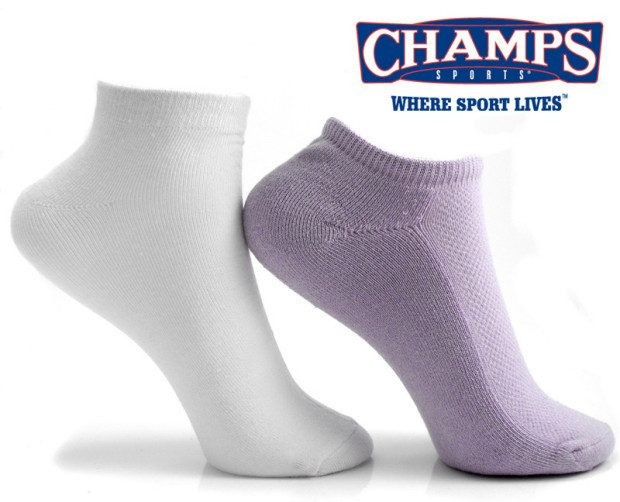 Women's Sports Sock, No-Show/Low Cut Combo 6Pk Only $2.79 + FREE Shipping!