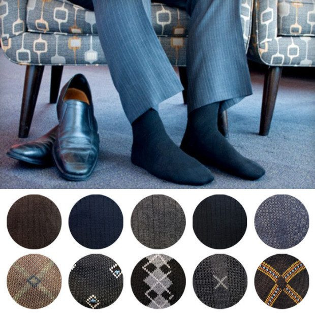 Men's Dress Socks 6 Pair Only $5.49 Plus FREE Shipping!