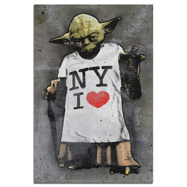 New York Yoda Love Poster Only $9.99 Plus FREE Shipping!