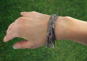 Aged Silver Triple Bangle Bracelet Only 4.99 Plus FREE Shipping!