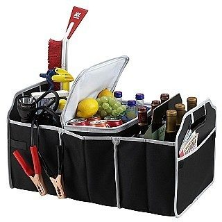 Trunk Organizer with Built In Cooler - Organizes AND Keep Food & Beverages Cold Only $7.99 Plus FREE Shipping!