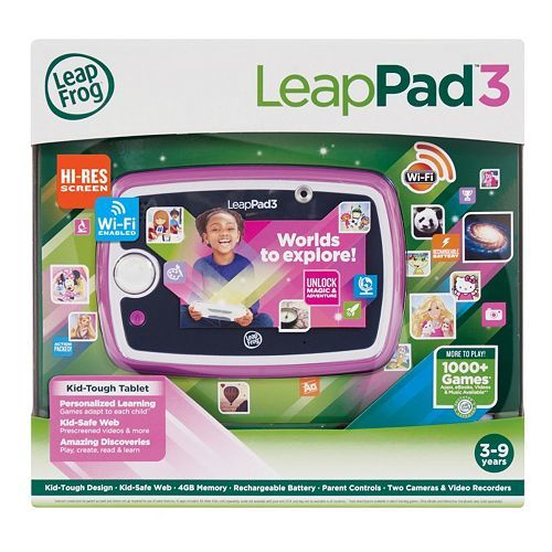 LeapFrog LeapPad3 Learning Tablet Just $84.74 PLUS FREE Shipping!  Down From $149.99!