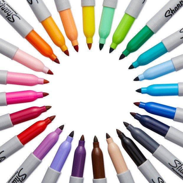 Sharpie Fine Point Markers 24pk Assorted Colors  Just $9.83!  Down From $30.89!