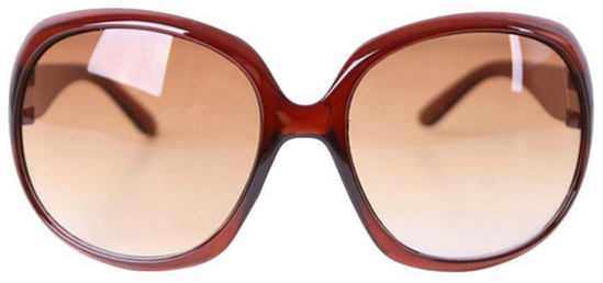 Oversized Frame Sunglasses Just $1.99 Shipped!