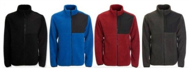 Aeropostale Men's Sherpa Fleece Zip Jackets Just $9.60!  Down From $54.50!