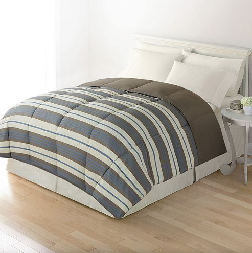 Reversible Down-Alternative Comforter Just $16.24!