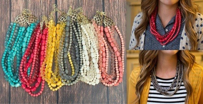 The Betty Necklace Only $8.99! Down From Up To $22.95!