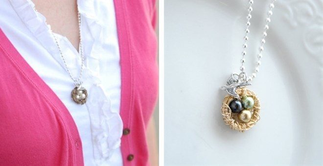 Mama Bird Nest Necklace Only $6.99! Down From Up To $26.00!