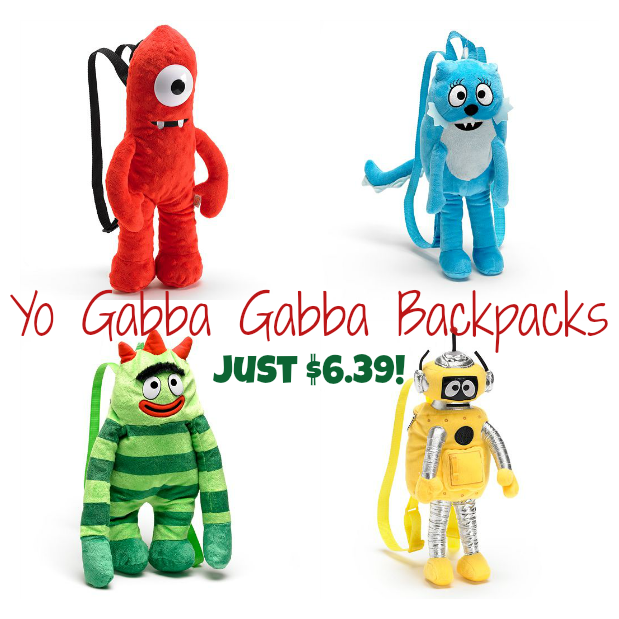 Yo Gabba Gabba Backpacks