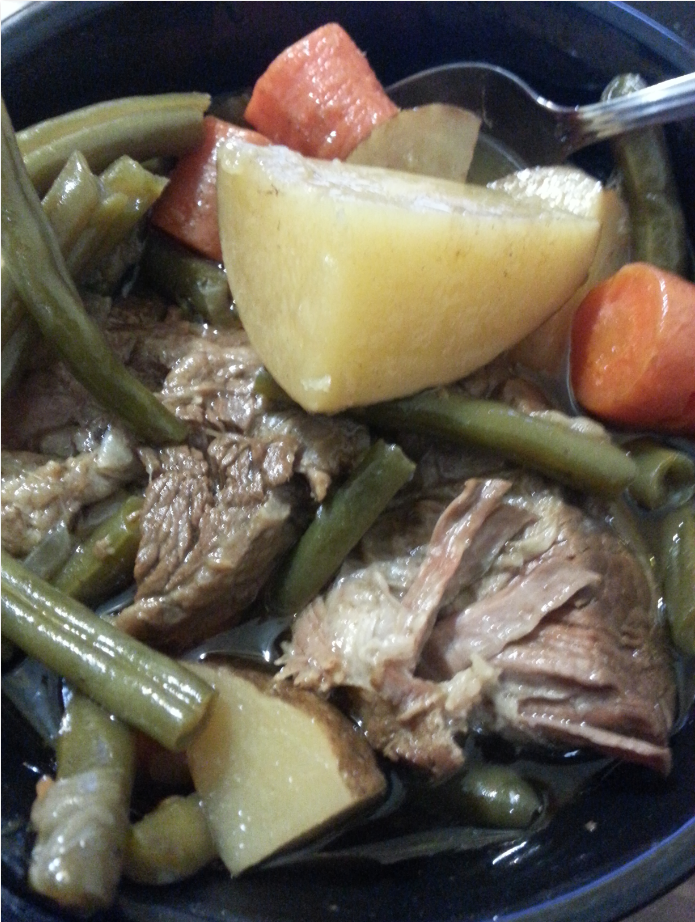 Crock Pot Roast Recipe!  One Pot Meal!