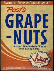 Grape Nuts Cereal