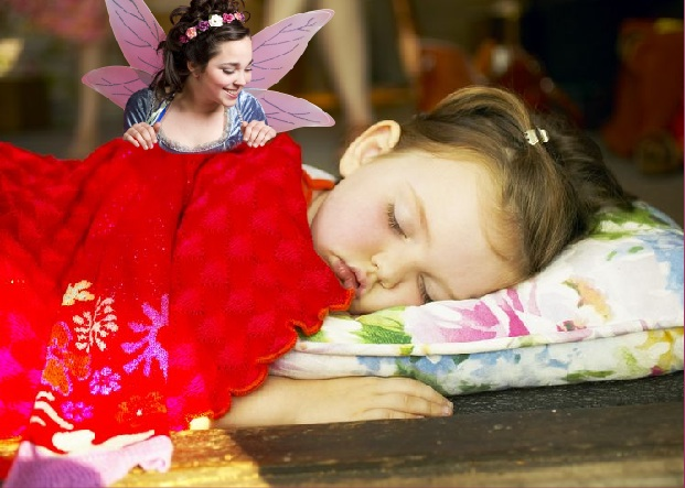 FREE Picture Of Tooth Fairy Watching Your Little One Sleep!