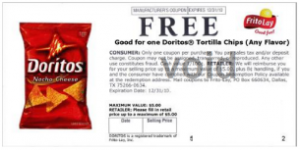Fraudulent Dorito Coupon