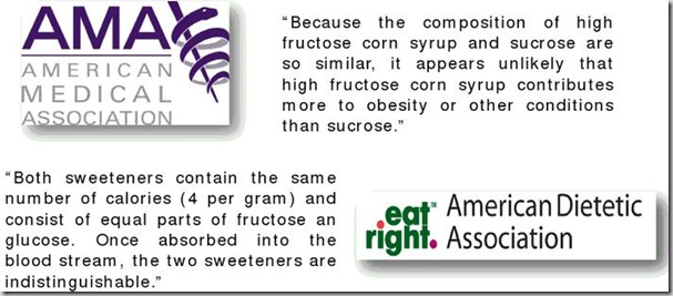 HFCS vs Sugar AMA