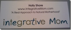 Bloggy Bootcamp Integrative Mom Card