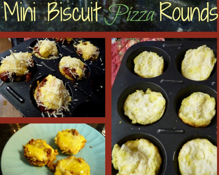 Mini Biscuit Pizza Rounds!