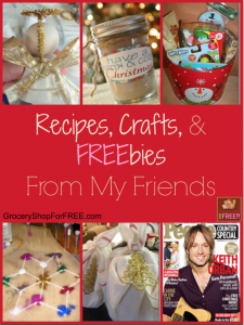 Recipes, Crafts And FREEbies From My Friends Around The Web!