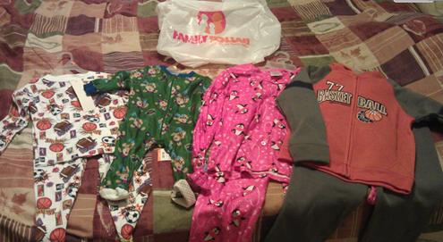 Family Dollar Christmas Shopping Trip