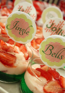 Making A Merry Christmas: Mini Parfaits At The Holly Jolly Jingle Hoppin' Cousins' Christmas Party!
